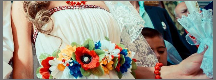 Весільна сукня вишиванка - весілля в українському стилі f6d303612e555