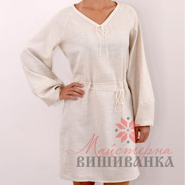 97925b789eeb05 Українська вишивана сукня з льону