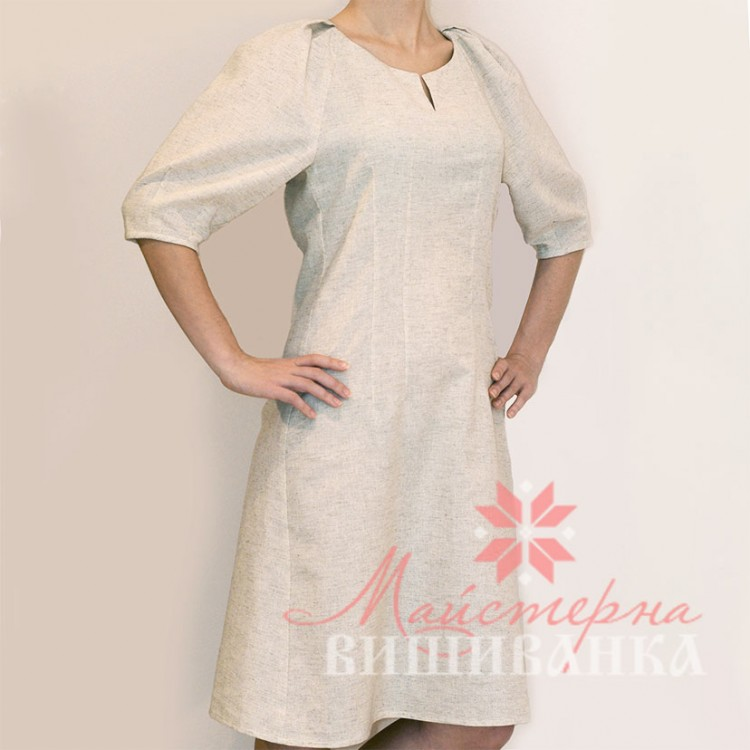 7ba00ea97fcb79 Купити сукню під вишивку з натурального домотканого полотна ...