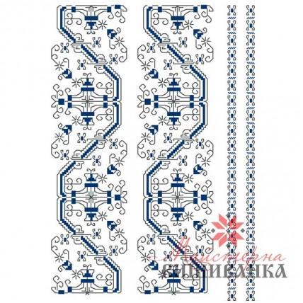 """Схема для вишивання на флізеліні """"Таємничі метелики"""""""